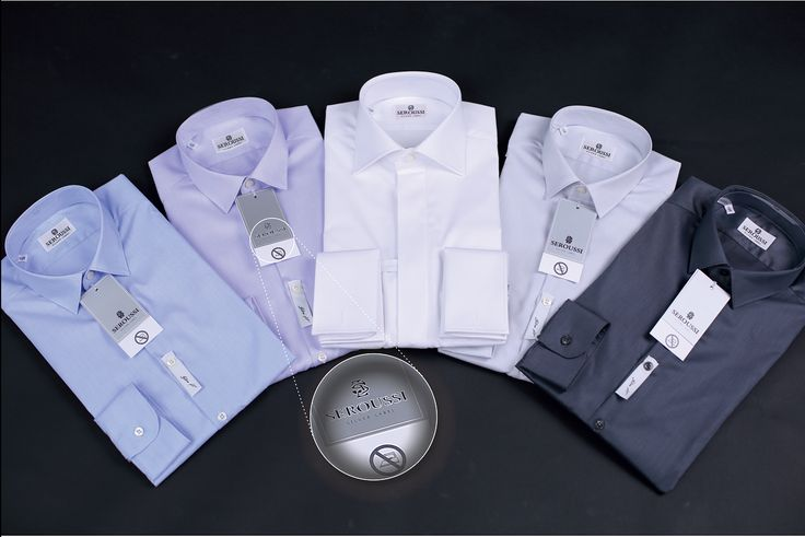 SLIM FIT NON IRON shirts in Seroussi stores. Easy to handle - neat look. / Camasi SLIM FIT NON IRON in magazinele Seroussi. Usor de intretinut - aspect ingrijit.