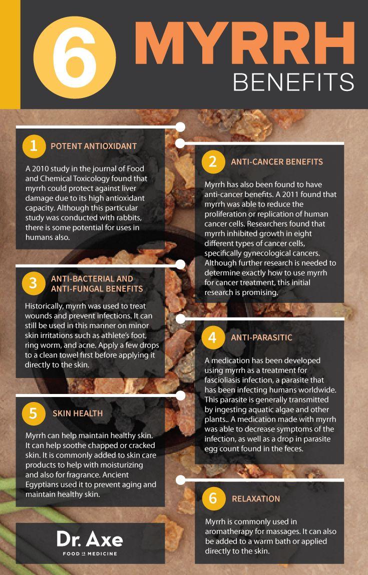 Myrrh Oil Benefits
