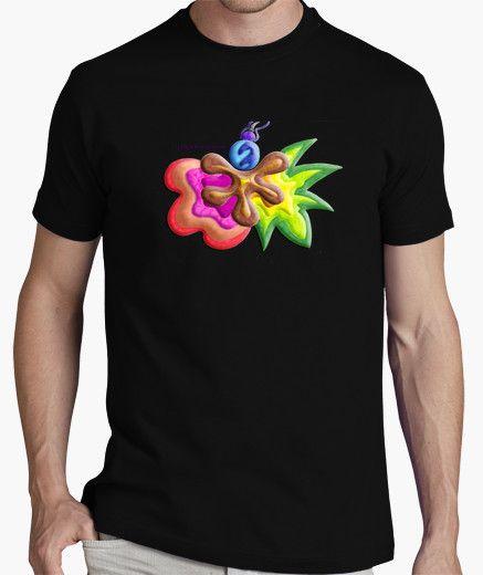 Camiseta de hombre Explosión de Color - Man t-shirt Color Explosion - #Shop #Gift #Tienda #Regalos #Diseño #Design #LaMagiaDeUnSentimiento #MaderaYManchas #Man #Hombre #tshirt #Cool #black #colors
