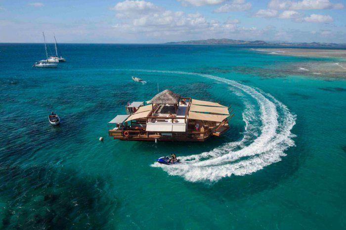 Fidschi Inseln cloud 9 bar besuchen