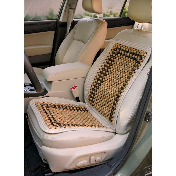 Kool Kooshion Wood Beaded Seat Cushion Standard Or Deluxe Option