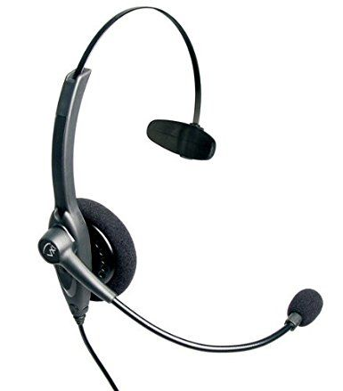 VXi 201814 Passport 10V DC Over-the-Head Monaural Headset with DC N/C Microphone Review 2017
