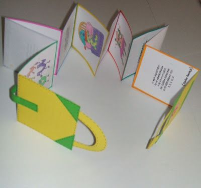 LAPICERO MÁGICO: ESCRITURA CREATIVA: Libros acordeón.