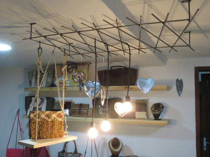Mis Wude à la boutique L'Atelier 6 à Dakar