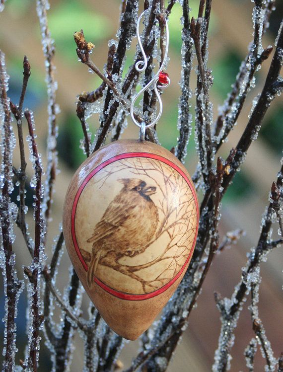Items similar to Winter Bird Cardinal Christmas Tree Ornament egg gourd on Etsy & 80 best Jenn Avery Gourd Art images on Pinterest | Gourd art Gourds ...