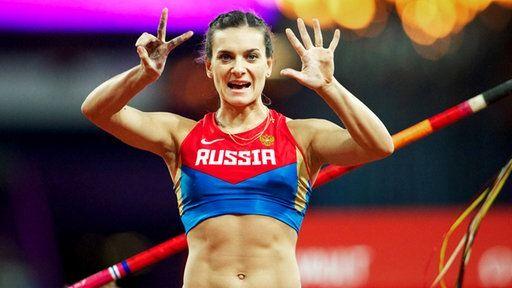 Stabhochspringerin Jelena Issinbajewa