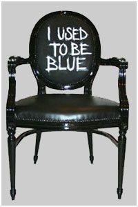 Hand Painted Chairs, Bespoke Retro Chairs, Kensington, West London, UK