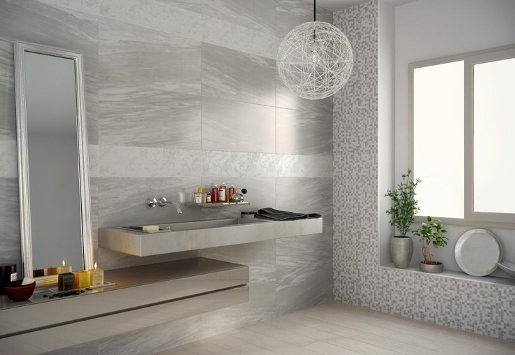 19 best piastrelle bagno effetto marmo images on pinterest - Rivestimento bagno effetto marmo ...