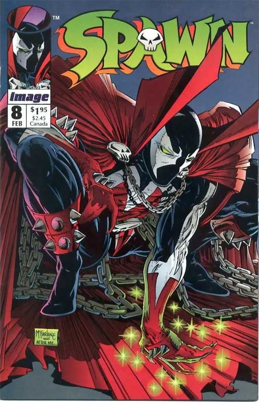 Spawn 8 February 1993 Issue Image Comics Grade by ViewObscura