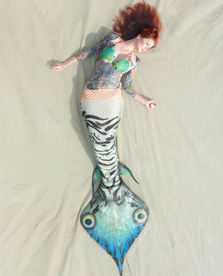 Resultado de imagen de mermaid cyanea serpent tails
