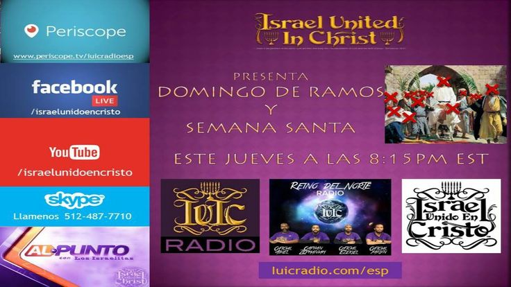 Los Israelitas: Al Punto - Domingo de Ramos y Semana Santa