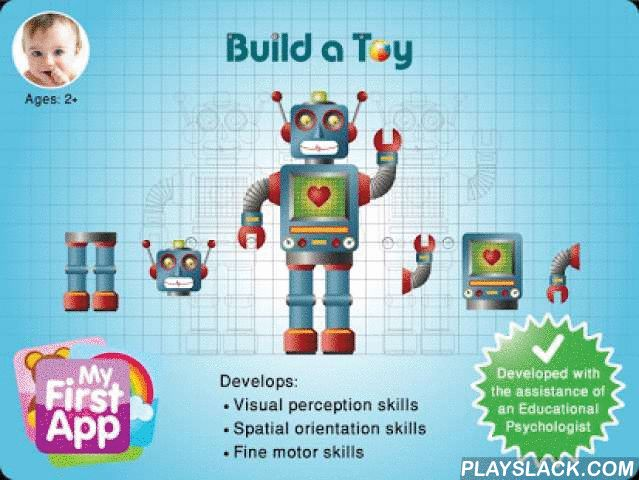 """Build A Toy 1  Android App - playslack.com , """"Build a Toy"""" is a fun way of developing visual perception skills, spatial perception skills, and fine motor skills.""""Build a Toy 1"""" is designed for children aged 2+""""Build a Toy 2"""" is designed for children aged 2.5+HOW TO PLAY: Each board displays on its right side several parts of a toy. The goal of the game is to assemble the toy by dragging the parts into their correct places in the drawing located on the left.This game is one of a series of…"""