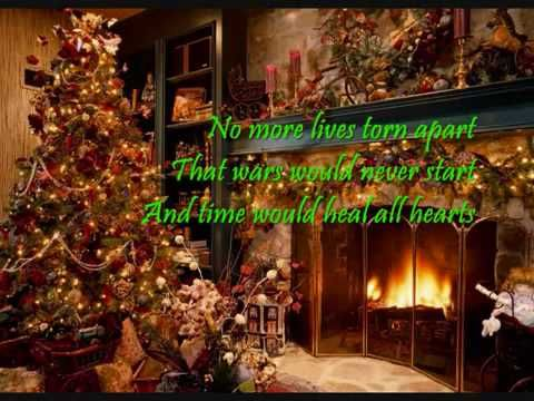 My Grown Up Christmas List by Kelly Clarkson- one of my all time favorite Christmas songs