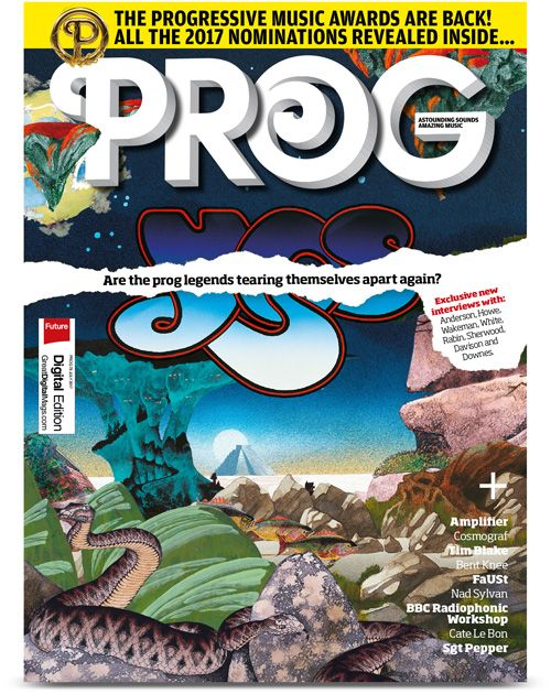 Check out the Latest Issue of Prog Magazine by subscribing to My Favourite Magazines: