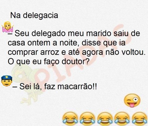 Piadas Curtas | Piadas.com.br