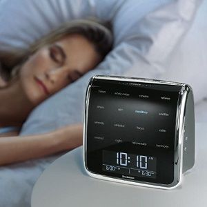 white noise machine Why this apparatus and not another? For the quality of the sound it produces. This brand has been on the market for a long time and its appliances have been tested to the full
