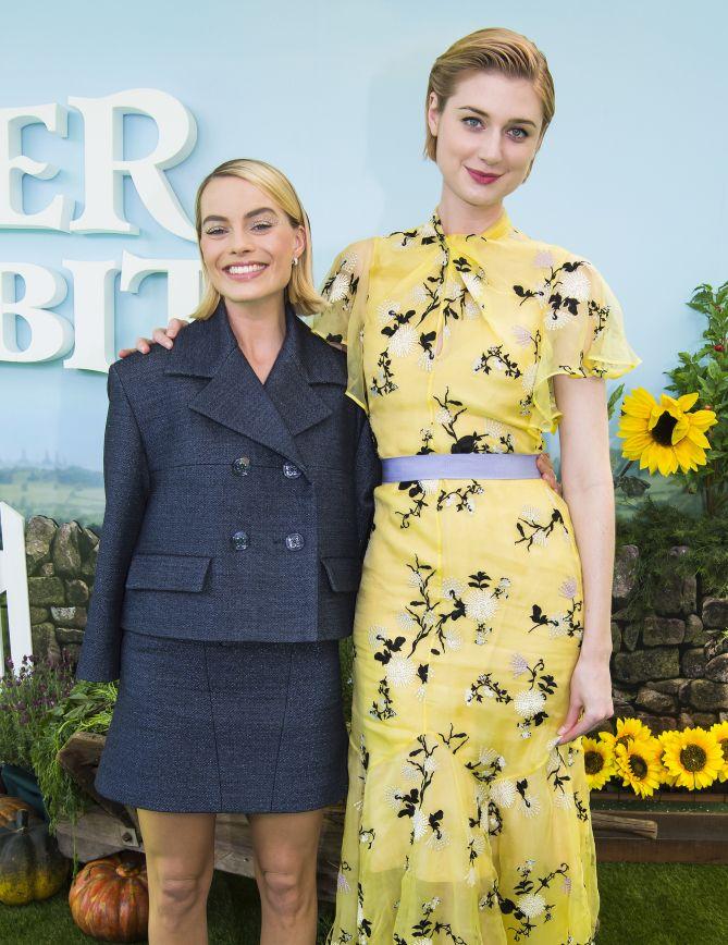 Happy To Be Here Elizabeth Debicki Beautiful Actresses Actress Margot Robbie