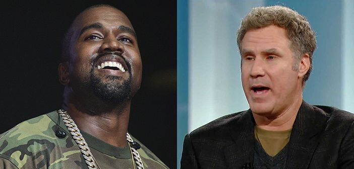 Kanye West Wants Comedy Actor Will Ferrell To Play Him In Future Biopic
