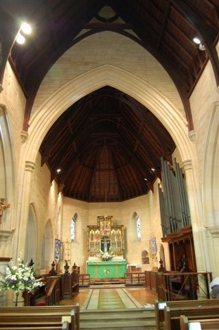 Inside the Church - St Saviour's Claremont Cape Town