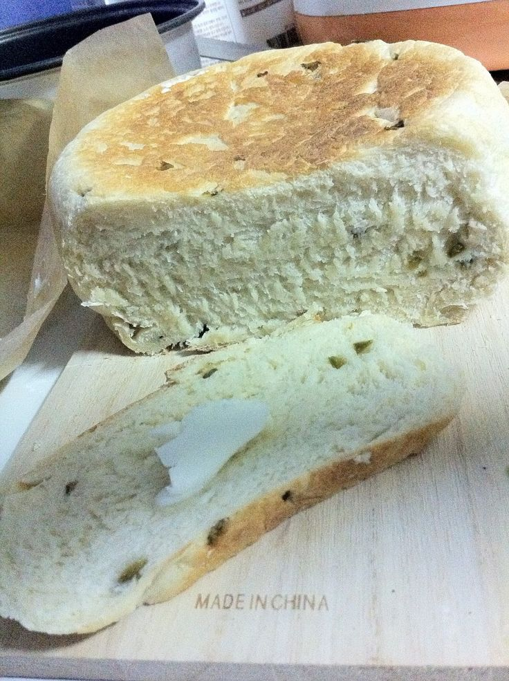 Knifing Forking Spooning: Jalapeno Bread in a Rice Cooker
