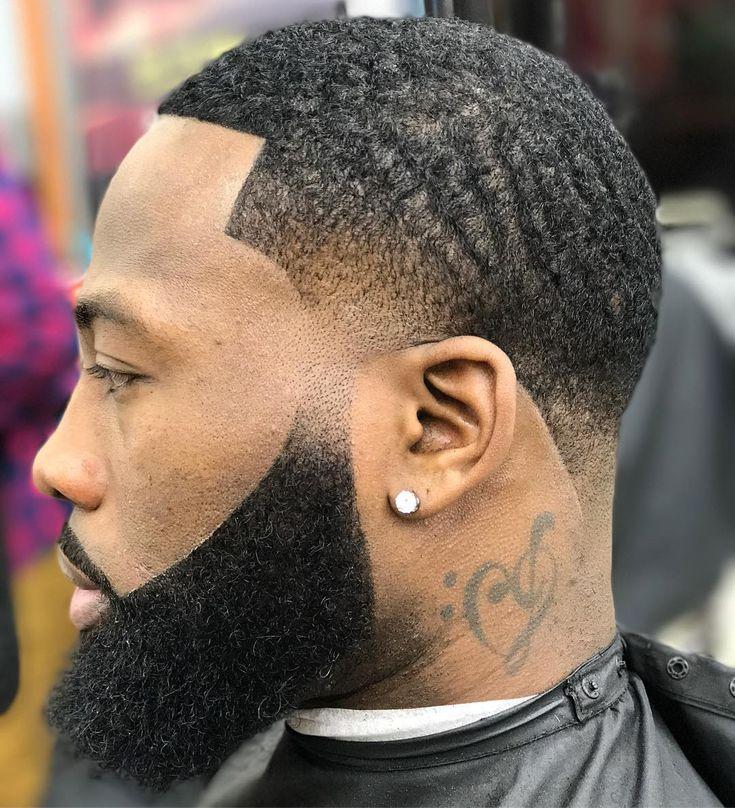 Rebellion beard style for black men