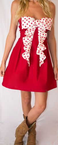 this is so stinkin cuteSassy Ruffles, Games, Fashion, Crafts Ideas, Style, Closets, Bows Dresses, Game Day Dresses, Gameday Dresses