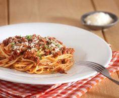 Rezept Spaghetti bolognese nach Jamie Oliver von Magal - Rezept der Kategorie sonstige Hauptgerichte