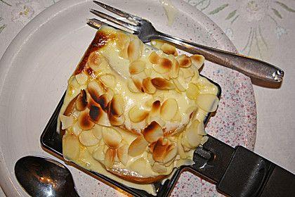Eierlikör - Pfirsich - Raclette (Rezept mit Bild) | Chefkoch.de