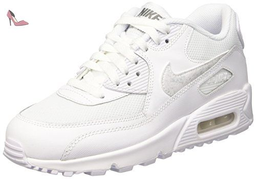 Nike Air Max Command Flex GS, Sneakers Basses Garçon, Gris (Stealth/Midnight NVY-White-Black), 38 EU