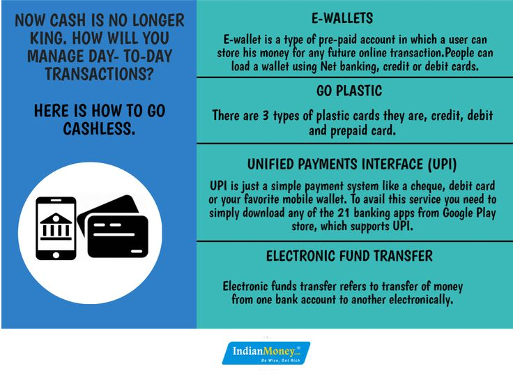 Now cash is no longer king. How will you manage day- to-day transactions? Here is how to go cashless.