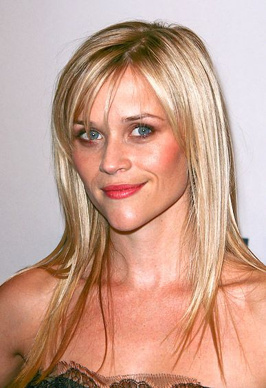 Reese Witherspoon S Long And Sleek Mane With Wispy Side