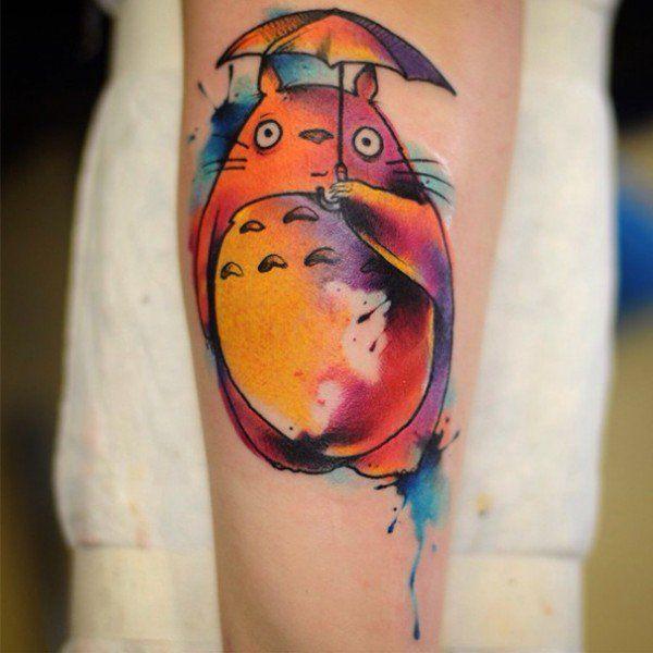 Voici les plus beaux tatouages Miyazaki