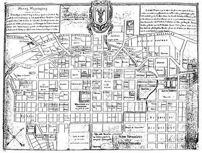 SIG Aplicado a la Movilidad Urbana: Estructura Urbana de la antigua Riobamba antes del terremoto de 1797