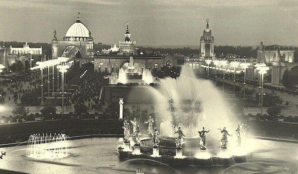 Москва, ВСХВ, 1955 год