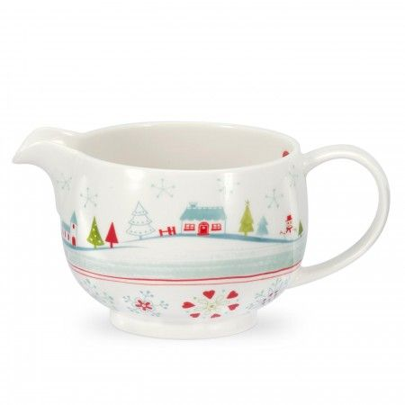 Portmeirion Christmas Wish gravy boat, 0.5L