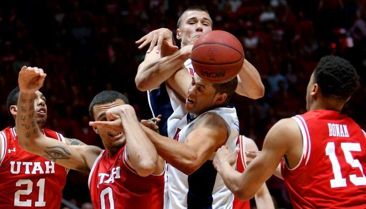 Utah Runnin' Utes vs Arizona Wildcats Mens College Basketball Game Tonight