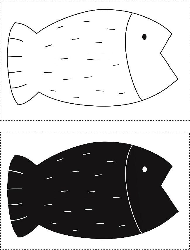 Decorative Pillow fish. DIY step-by-step tutorial. Pillow in the form of fish, pattern and instruction - 2 of 2