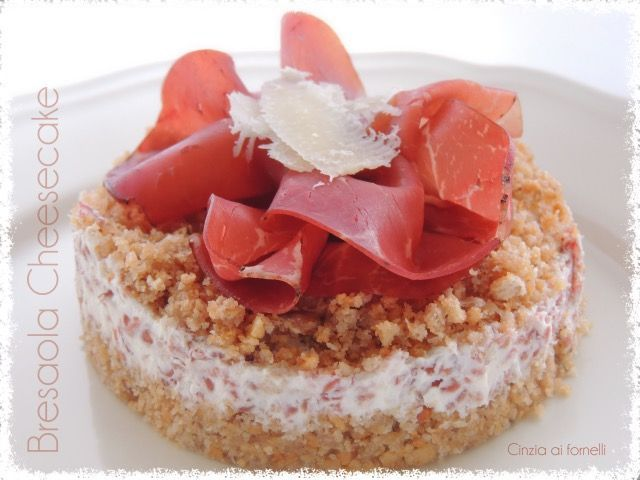 cheesecake alla bresaola