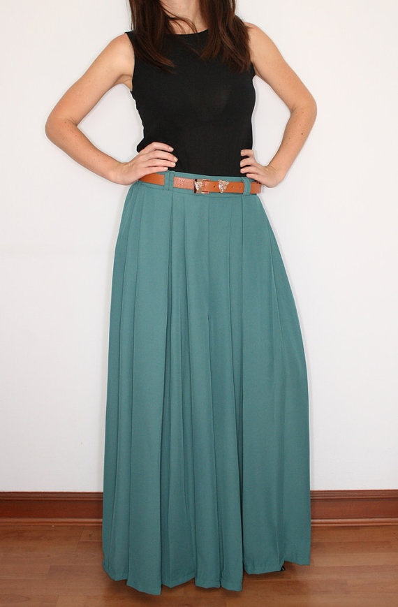 Wide Leg Pants Palazzo Pants in Blue