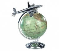 Vintage Travel agents Globe and Plane