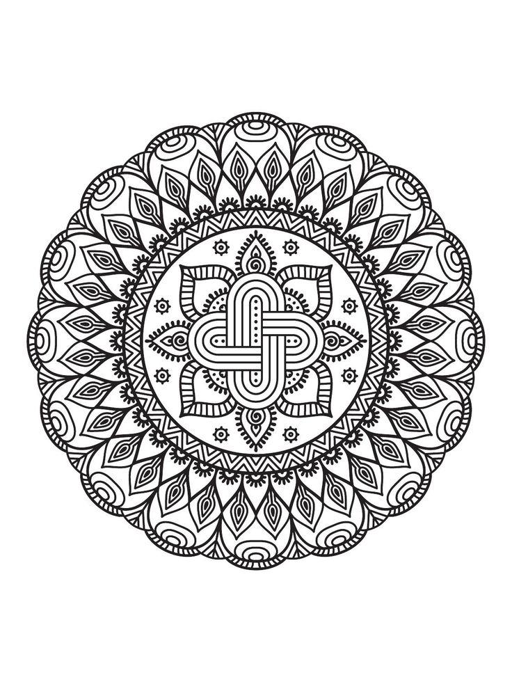 Mindfulness Mandalas Nº3