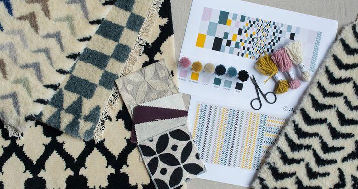 rugs, bespoke - Niki Jones