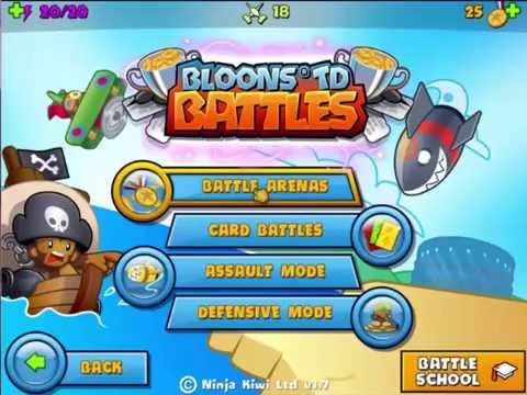 BLOONS TD BATTLES BOOTCAMP LATEST VIDEO GAMES PLAY