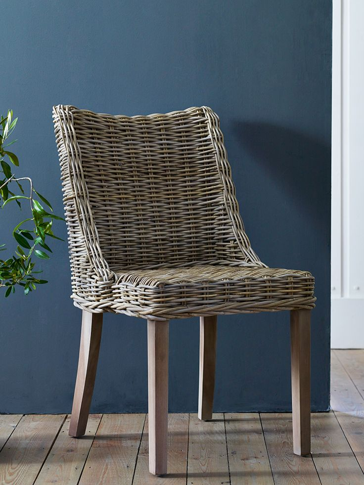 Best 10 rattan dining chairs ideas on pinterest house for Wicker dining room chairs