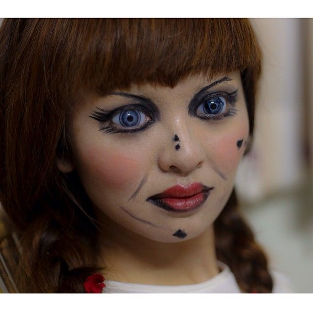 Create Annabelle Makeup Time