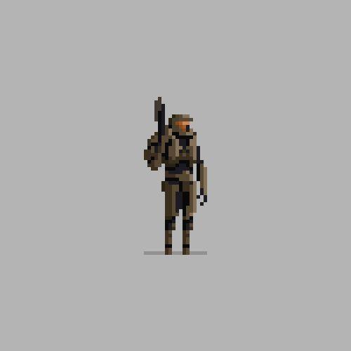 Personagens famosos em Pixel Art