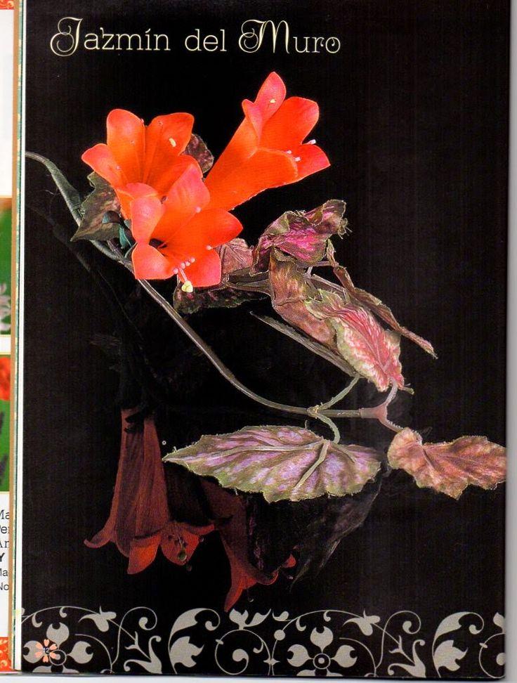 Цветы из фоамирана. Журнал с Мастер-классами - Лена Кабак  | Профиль - Nebka.ru