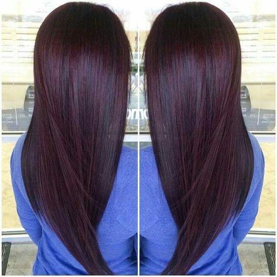 9 hottest chocolate cherry burgundy hair color ideas for 2017