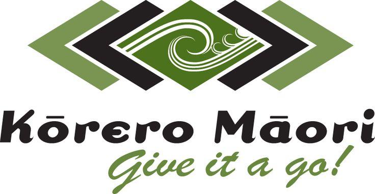 Korero Maori Logo Give it a go