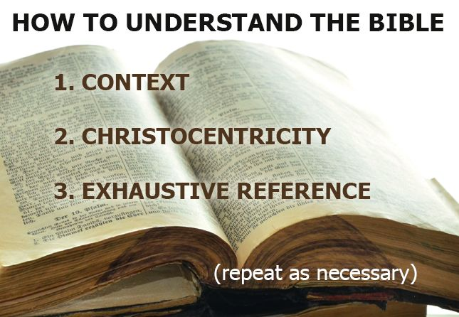 Understanding the bible image